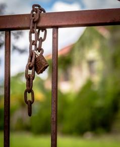 Lock at gate