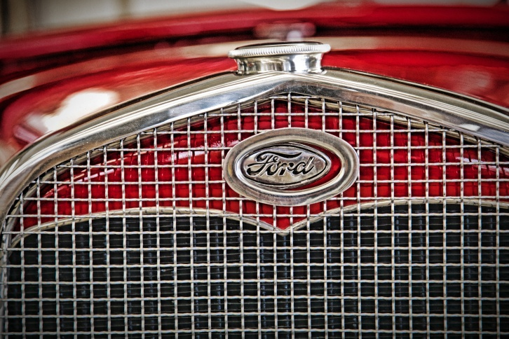red ford grill